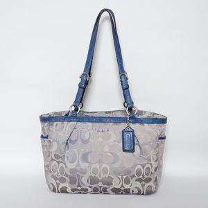 💕Coach Gallery Optic Signature Carryall Tote Bag